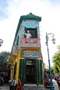 Walking around la Boca
