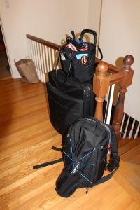 The final cut on my luggage. Mis maletas son gordas!