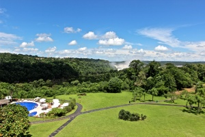 View from our room at the Sheraton Iguazu Falls