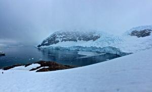glacier calving-Neko Harbour