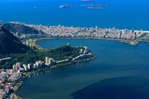 Corcovado looking over Ipanema Beach