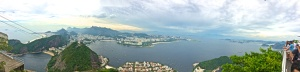 View of Guanabara Bay from Sugar Loaf