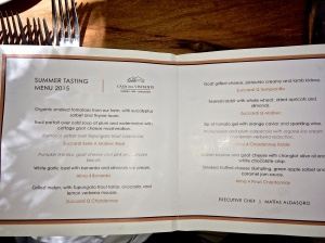 Degustation Lunch and wine tasting at Zuccardi Vineyards