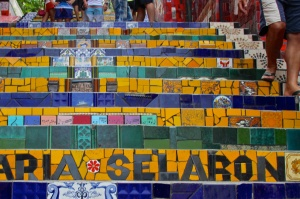 The Selaron Stairs