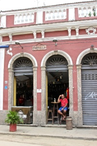 In the Santa Teresa neighborhood  Our feijoada meal at Portela's