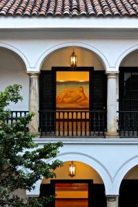 In the Candelaria District-Botero Museum
