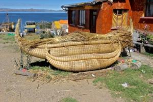 Balsa Wood Boats made of Totora reeds