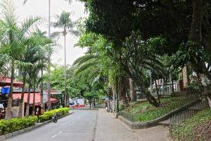 Walking around the Poblado Neighborhood
