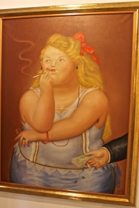 Botero Painting
