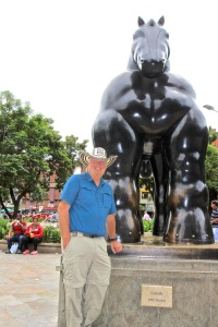 Botero Scupltures and the Antioquia Museum