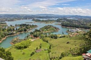 Views of Represa de Guatapé