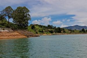 Boat ride on Represa de Guatape