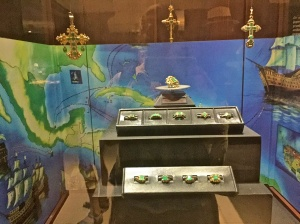 At the Emerald Museum