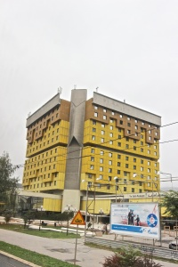 Holiday Inn where snipers were located