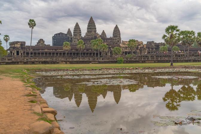 Among the Ancients in Angkor Wat