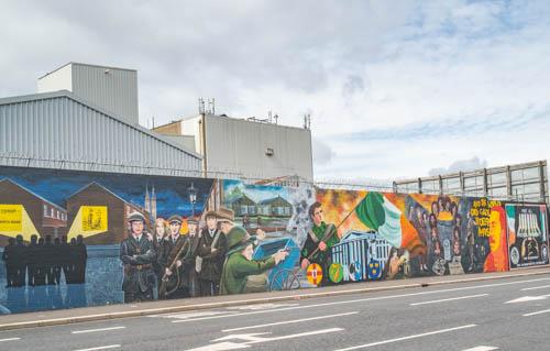 Buzzing Up  to Belfast