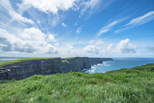 A Glorious Catch of the Cliffs of Moher