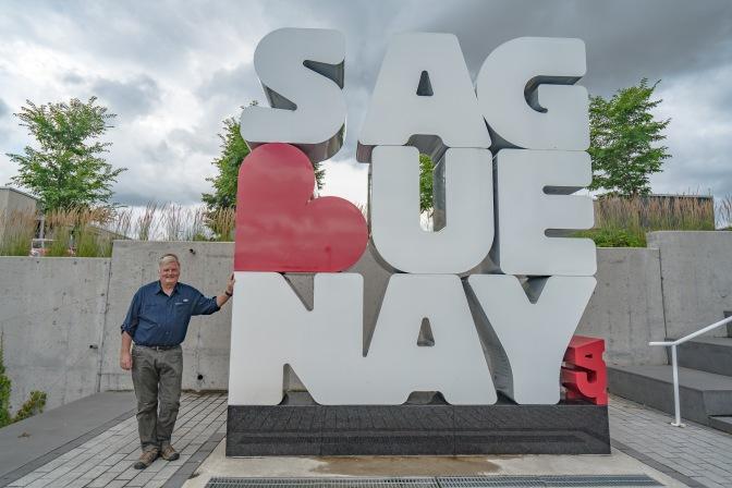 Sailing into Saguenay