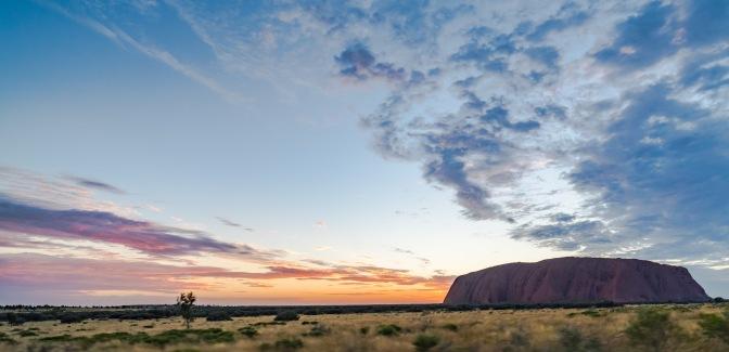 Oohing and Aahhing at Uluru